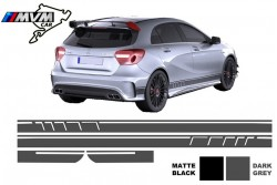 Vinilo lateral AMG Edition Grey para Mercedes Clase A W176