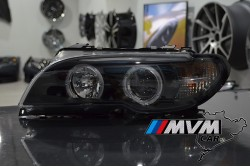 Faros Angel Eyes Bmw E46 Coupe / Cabrio