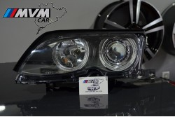 Faros Angel Eyes Bmw E46 01-05