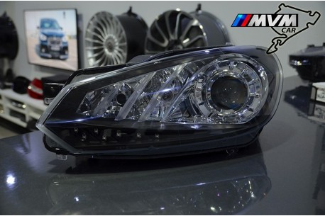 Faros delanteros VW Golf VI look GTI