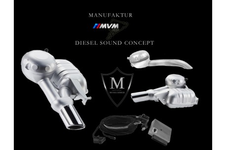 Kit Active Sound system Diésel para Bmw